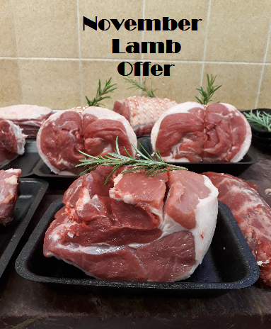 LAMB OFFER LAST CHANCE TO ORDER