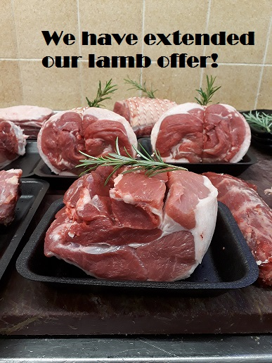 We have extended our lamb offer!